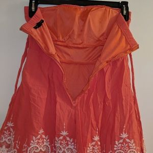 City Triangles Dresses - City Triangles sz 7 strapless A-line dress